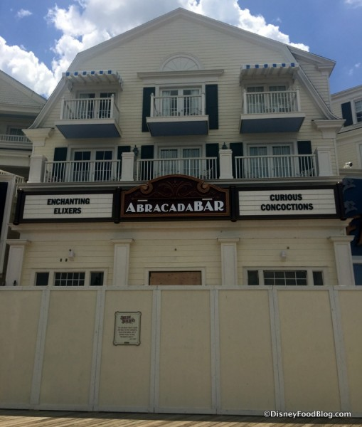 AbracadaBar Coming to Disney World's Boardwalk
