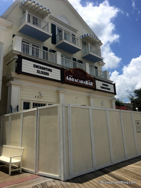 AbracadaBar Coming to Disney World's Boardwalk