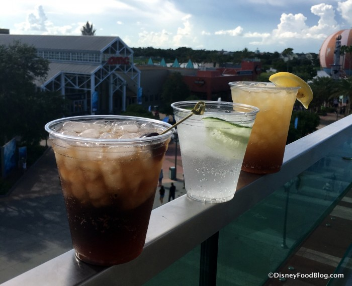 Adult beverages at World of Coca-Cola