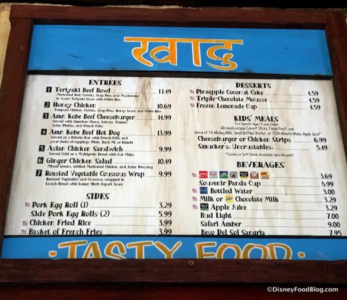 Local Foods Cafe Menu