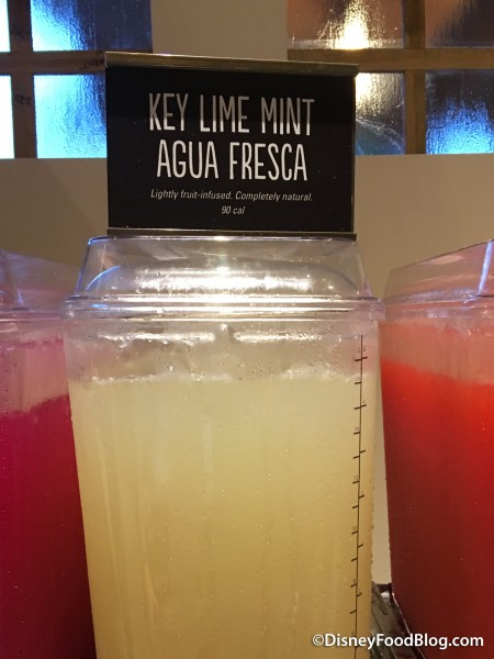 Key Lime Mint Agua Fresca