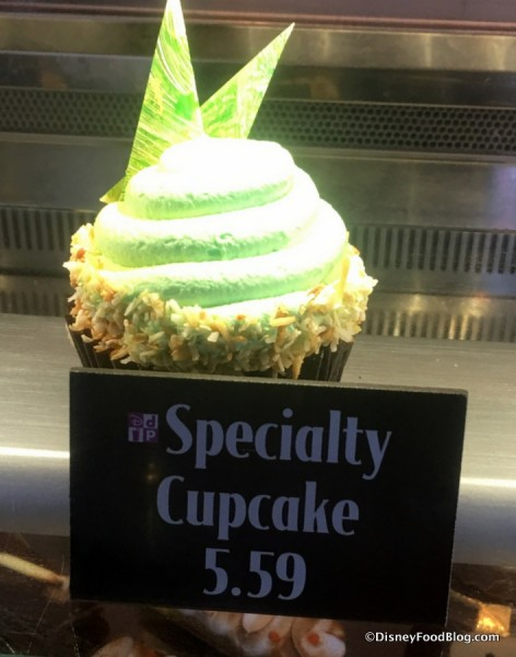 Coconut Lime and Passion Fruit Cupcake
