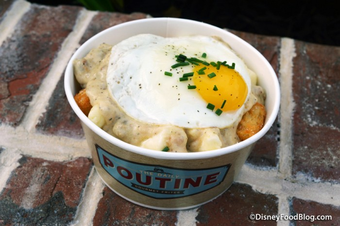 All-Day Breakfast Poutine