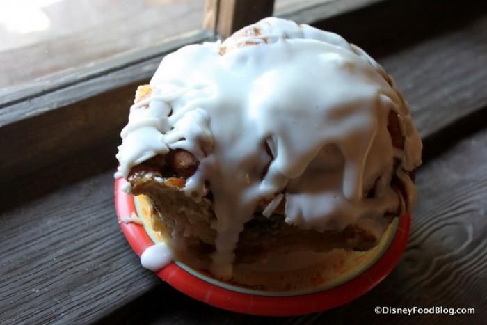 Cinnamon Roll with Extra Icing