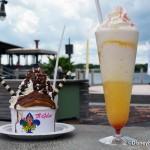 Review: Creamsicle Float and Nutella Brownie Sundae at Vivoli il Gelato in Disney Springs