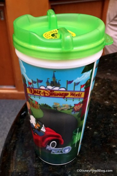 Handle-free Refillable Resort Mug
