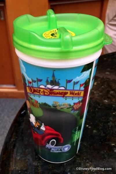 Handle-free Refillable Resort Mug