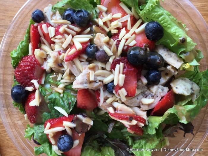 Berry Chicken Almond Salad
