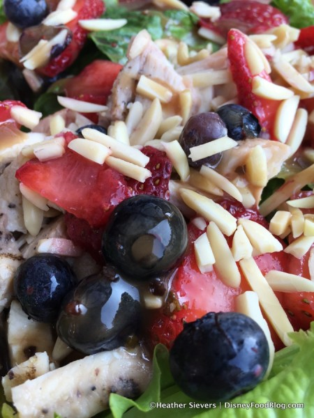 Berry Chicken Almond Salad