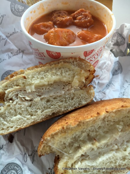 Kids' Turkey and Swiss with Tomato Soup