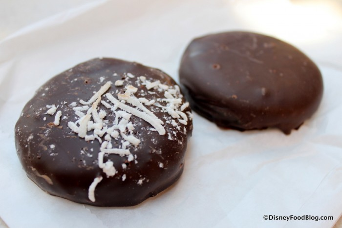 Coconut and Dark Chocolate Peppermint Patties