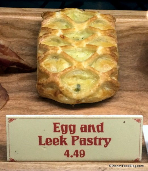 Egg and Leek Pastry