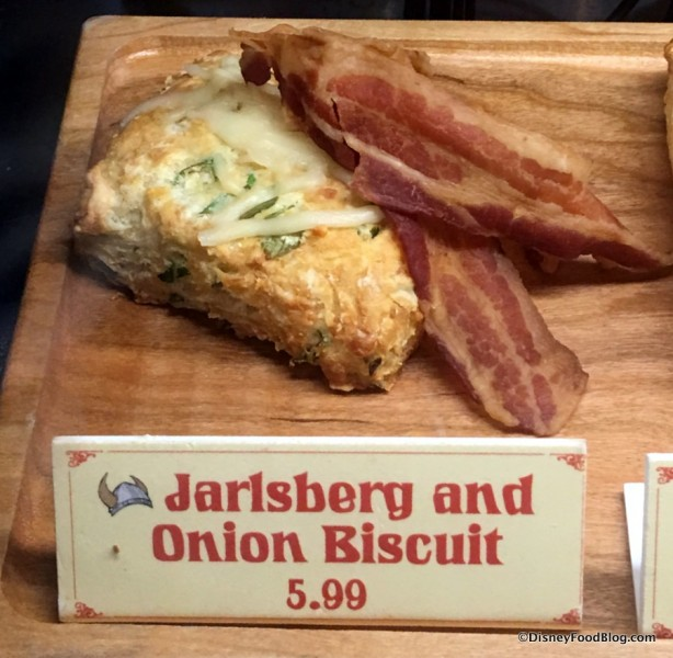 Jarlsberg and Onion Biscuit