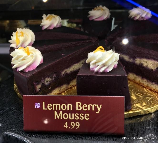 Lemon Berry Mousse