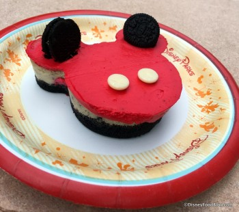 Epcot Sunshine Seasons Mickey Oreo Cheesecake July 2016 2