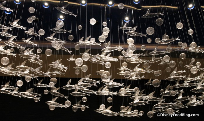 Glass Fish and Bubbles