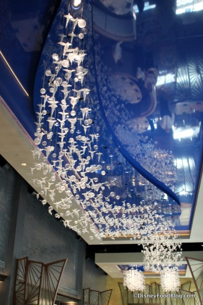 Glass Fish and Ceiling
