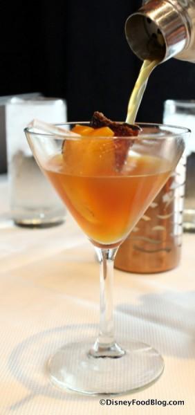 Maple Bacon Peach Manhattan