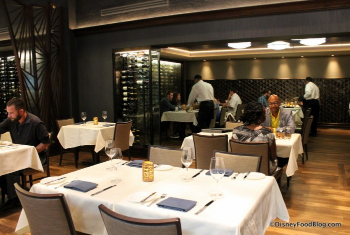Private Back Dining Area
