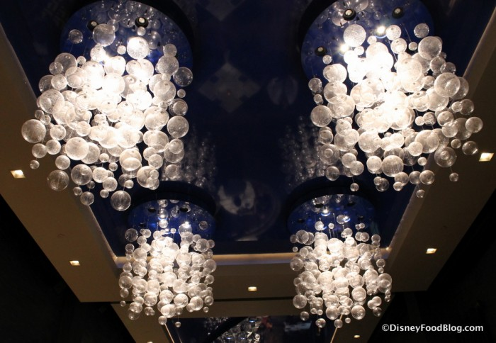 Chandeliers and Ceiling