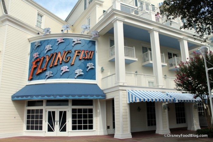 Flying Fish Entrance