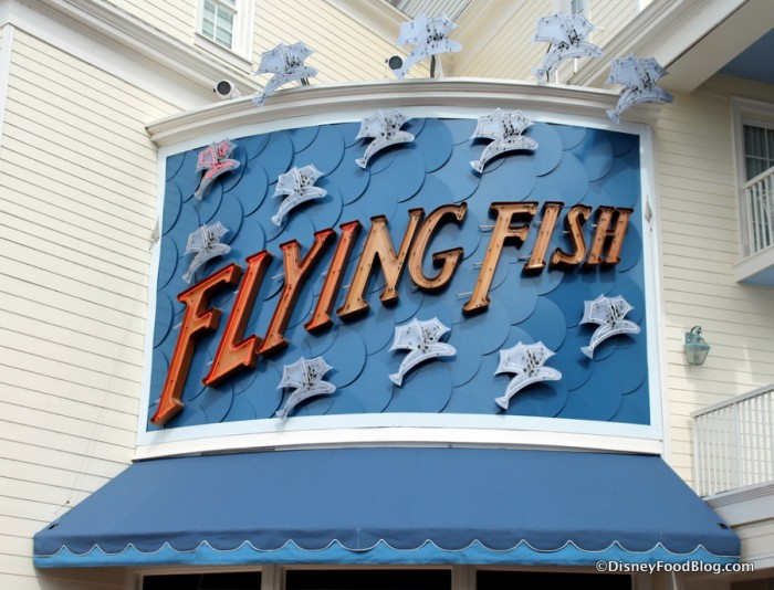 Flying Fish Sign