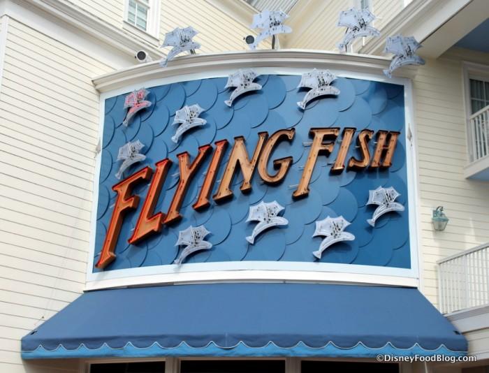 Flying Fish Sign