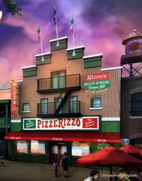 PizzeRizzo Concept Art