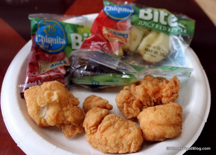 Kids' Chicken Nuggets Meal