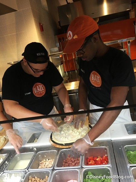 Building a Blaze Pizza