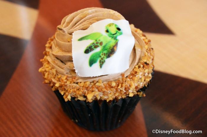Turtle Cupcake