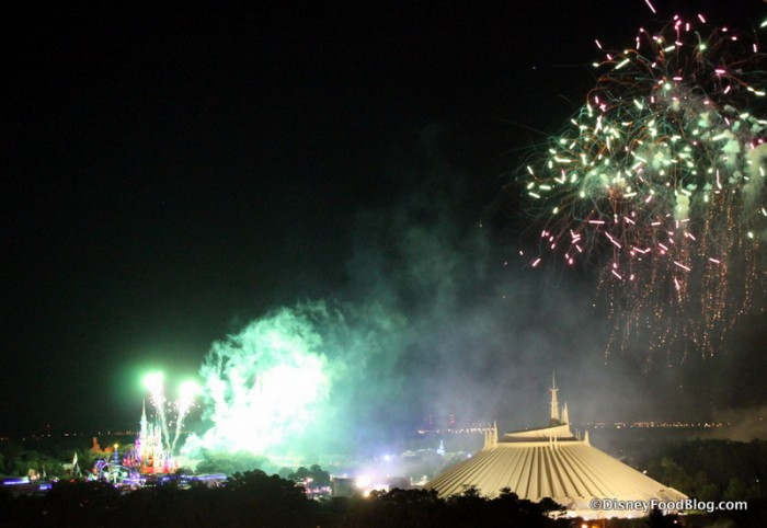 View of Fireworks from the Contemporary