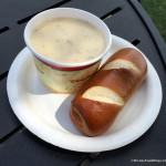 REVIEW! Our FAVORITE Cheddar Cheese Soup Has Returned to the EPCOT Food and Wine Festival!