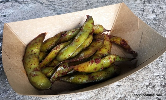 Grilled Spicy Edamame