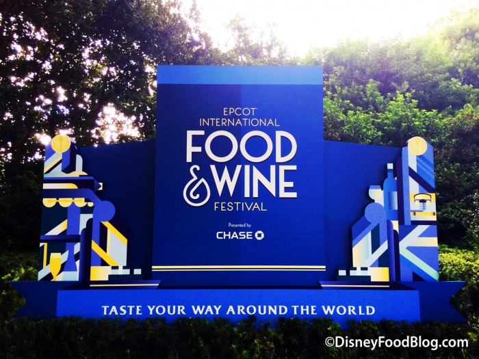 The Food and Wine Festival is HERE! But it can be pricey...