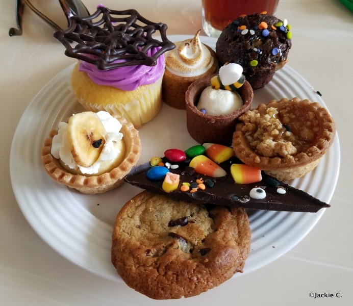 Halloween Desserts (and more) at Crystal Palace