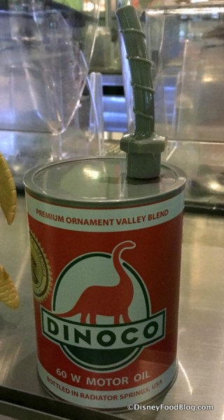 Dinoco Oil Can Sipper