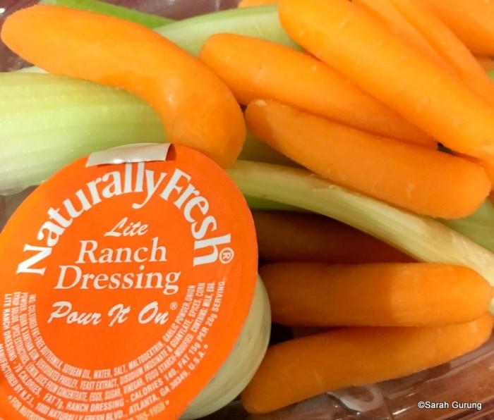 Veggies with Ranch Dip
