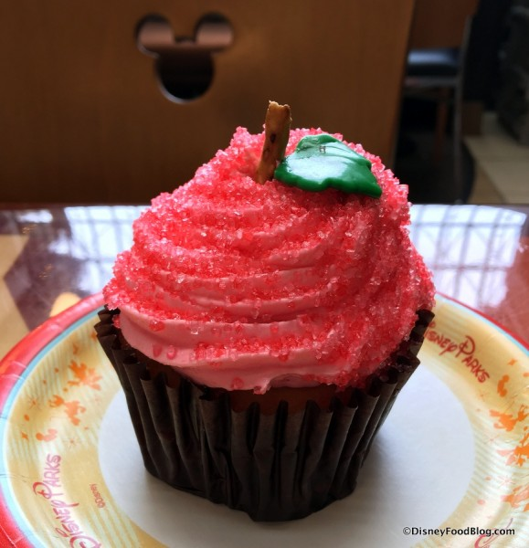 Candy Apple Cupcake