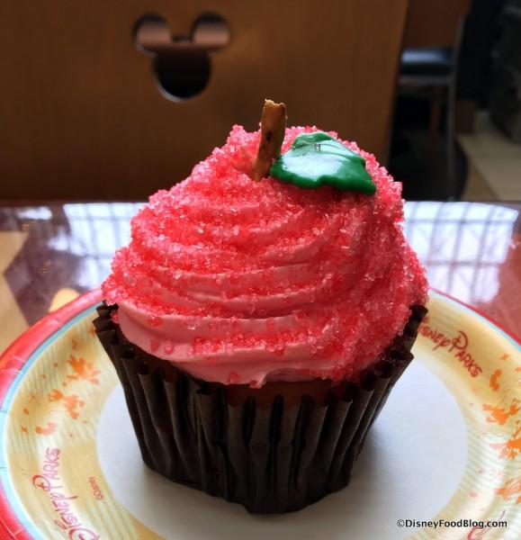 Candy Apple Cupcake