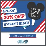 SAVE 30% Off Everything in the DFB Store With Our Labor Day Sale!