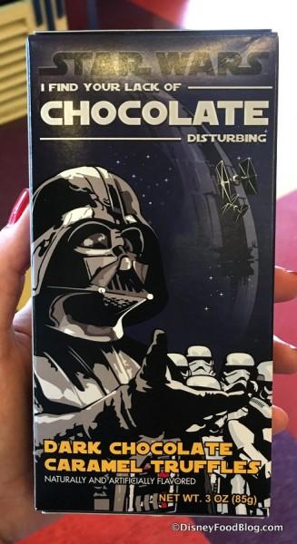 Star Wars Chocolate