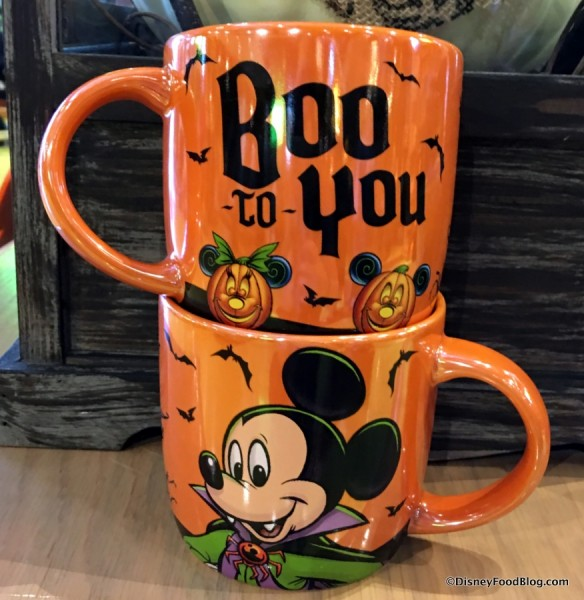 """Boo to You"" Mug (front and back)"