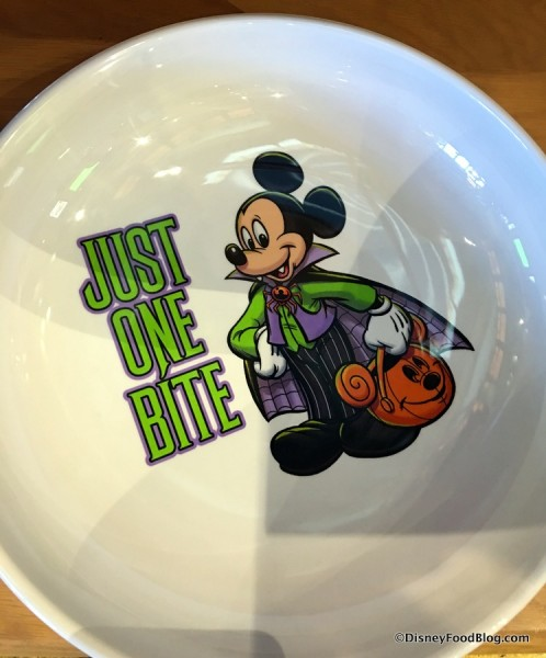 """""""Just One Bite"""" Bowl"""