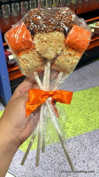 Autumn Krispy Treats