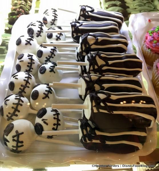 Jack Skellington Cake Pops and Marshmallow Wands