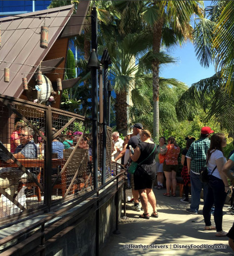 Line at Trader Sam's Enchanted Tiki Bar