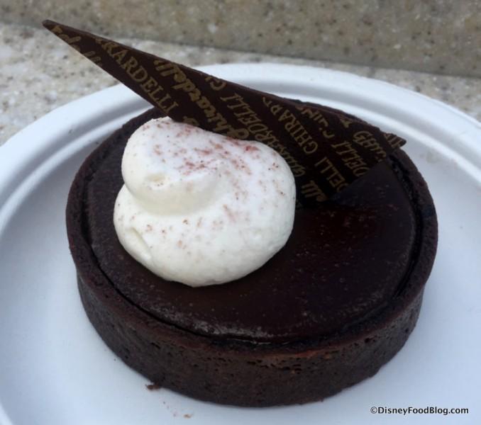 Ghirardelli® Chocolate Raspberry Torte