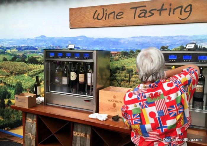 Wine Tasting Station is Back for 2016