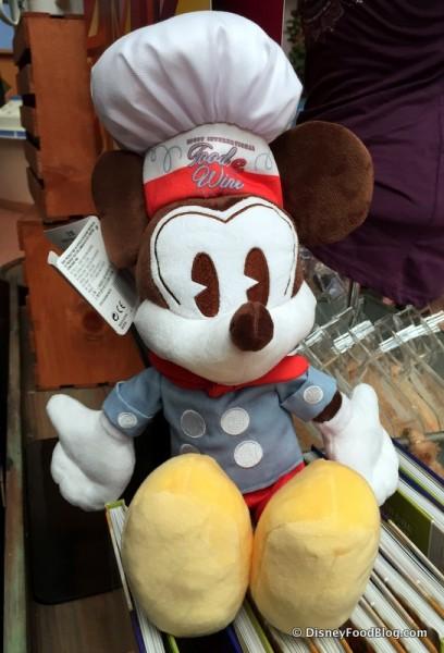 Retro Food and Wine Festival Mickey Mouse Plush